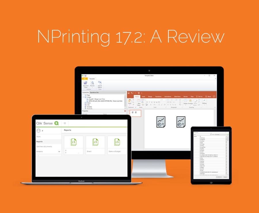 NPrinting 17 2 Review: Three Steps Forward and One Step Back